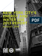 NYC Energy Water Use 2013 Report