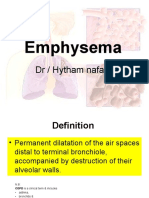 Emphsema imaging