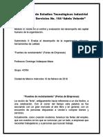 """Fuentes de Reclutamiento"""" (Ferias de Empresas)"""