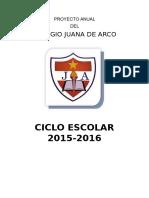 Proyecto Escuela Saludable