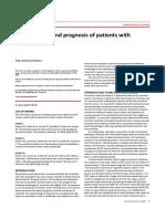 Inciden and Prognosis Bakteremia