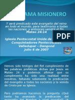 116675297 Programa Misionero IPUC Dangond 2007