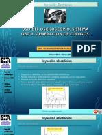 Uso Del Osciloscopio, Sistema Obd II, Generación de Códigos