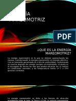Energía - Mareomotriz