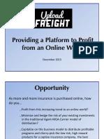 Upload Freight Presentation