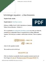 – Problem 2.1.Schrödinger Equation – a Few Theorems _ Physics Pages