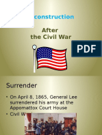 reconstruction after the civil war  1