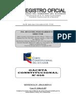Gaceta Constitucional N 16
