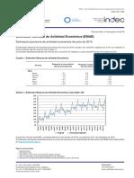 Estimador Mensual de Actividad Económica (EMAE)