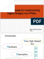 Introduction to VHDL-FPGA