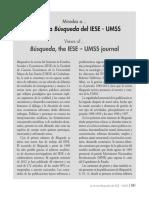 La Revista Búsqueda Del IESE