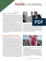 The Sciences Magazine Spring 09