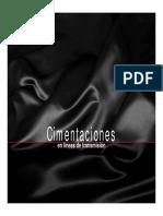 Cimentaciones Torres de Lineas de Transmisión||