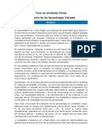 Ensayo_evaluacion de Los Aprendizajes Virtuales