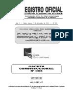 Gaceta Corte Constitucional No. 5