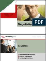 3. Negotiating