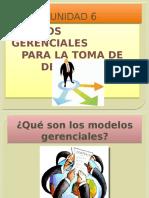 Modelos Gerenciales p Toma de Decisiones