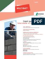 Multibat - Liant Special Pentru Tencuiala Si Zidarie