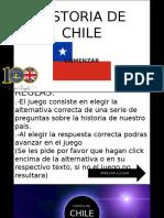 Historia de Chile - Juego