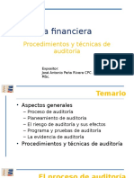 1. Procedimiento y Tecnicas de Auditoria (5)