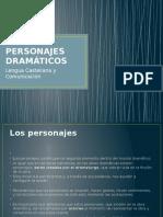 PPT explicativo de los Personajes Dramáticos