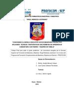 CONOCIENDO EL MODELO EDUCATIVO SOCIOCOMUNITARIO PRODUCTIVO APLICANDO.pdf