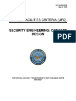 ufc 4-020-02fa security engineering - concept design (fouo) (1 march 2005)