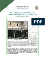 Una Lectura de Clara de Asís a Través de Las Fuentes Franciscanas - Chiara Augusta Lainati%2c OSC (1)