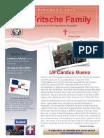 Fritsche Mission Newsletter - July & August 2016
