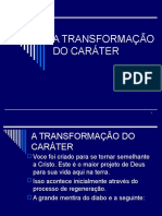 Aula 9 - a Transformacao Do Carater 522