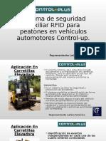 Sistema de Seguridad Auxiliar RFID Para Peatones En