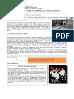 7� Coordinaci�n -   GUIA DE AUTOAPRENDIZAJE SOBRE GENERO DRAMATICO