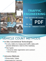 Traffic Class 02 Volume Counts