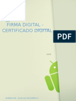 Firma Digital Certificado Digital
