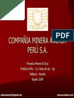 Presentacion Compañia Minera Ancash Perú[1]