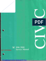 Civic 1996-200 Service Manual