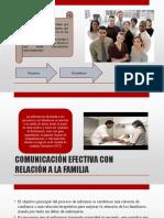 Comunicacion Enfrmera Familia y Equipo