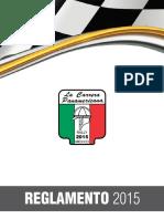 Reglamento Carrera Panamericana 2015-Espanol1