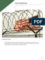 El Plan de Obama Sobre Guantánamo