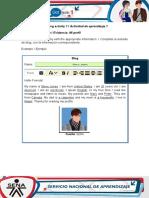 AA1-Evidence 1 My Profile (1) Daniel
