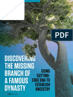 Discovering the Missing Branch of a Famous Dynasty by Shai Eilen