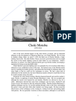 Persons Choki Motobu