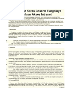 Hardware Akses Internet Intranet