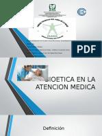 Bioetica en La Atencion Medica