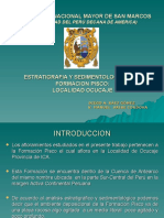 Estratigrafia y Sedimentalogia de La Formacion Pisco Localid