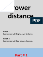 Power distance