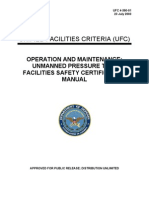 ufc 4-390-01 o&m - unmanned pressure test facilities safety certification manual (23 july 2003)