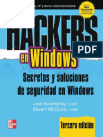 Hackers 3 en Windows Secretos y Soluciones de Seguridad en Windows