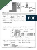 Form Rencana Pasca Bedah