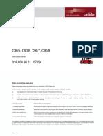 Manual Engine Part SIL Linde